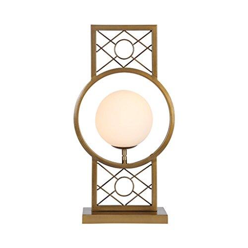 personnalité simple Lampe de table salon canapé côté armoire moderne simple fer style chinois chaleur chambre à coucher lampe de chevet étude
