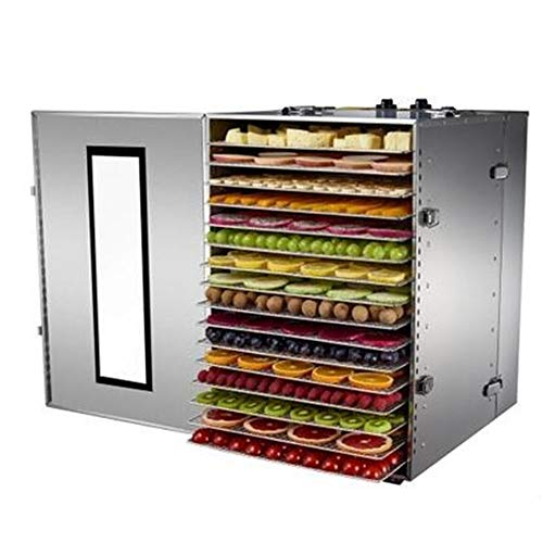 Purchase MICHEN 16 Tray Fruit Dehydrator Machine Fruit Vegetable Meat Herbal Tea Fish Dryer Food Dry...