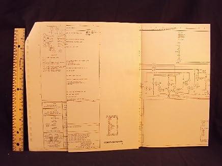 1977 77 ford maverick & mercury comet electrical wiring diagrams manual  ~original