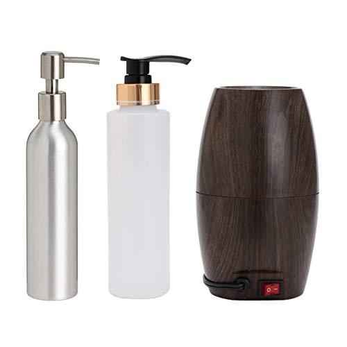 Elitzia ETOH843N Elektrischer Flaschenwärmer mit einer 270 ml Kunststoffflasche aus Edelstahl für Massage, Öl, Gel, Creme, ETOH843N
