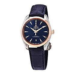 best Chronometer mens watches smaller than 40mm - Omega Aqua Terra 150M Co-Axial Master Chronometer Automatic 38 mm Men's Watch