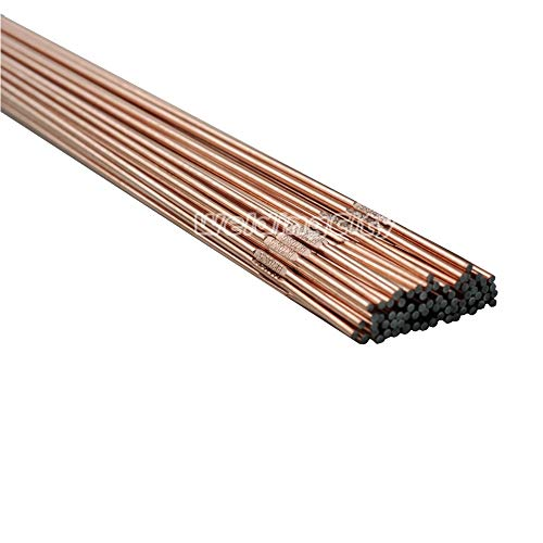 WeldingCity 5-Lb ER70S-6 Mild Steel TIG Welding Rods 1/16'x36' | Pack of 5-lb