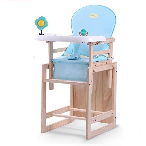 Chair eetkamerstoel voor kinderen / hoge stoel van massief hout / multifunctionele tafel / kinderzitje