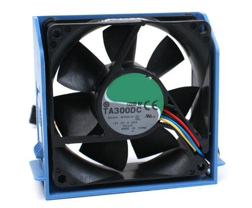Dell純正ハードドライブ冷却PCケースファンアセンブリ Precision Workstation 690, T7400 XPS 700, 710, 720システム部品番号: CD674 (アセンブリ)、HD445 (ファン)