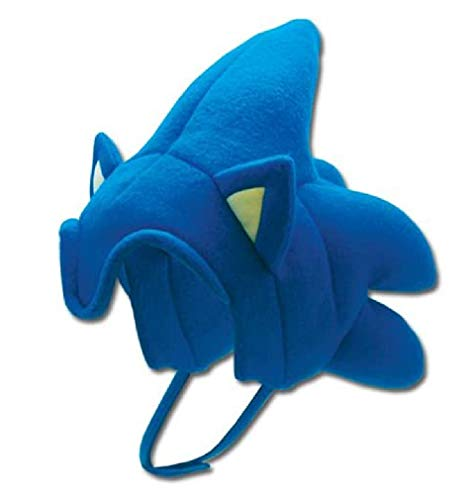 Ginkago Halloween Cosplay Hat The_Hedgehogs Theme, So_nic Favor Baseball Hat Sonics Cosplay Head Cap Cartoon Youth Blue Hat For Party Favor Supplies