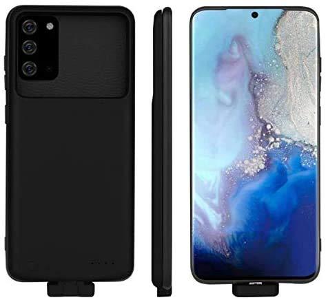 Huije Estuche de batería para Huawei P40 Pro, [5000mAh] Cargador de batería de Respaldo magnético Externo portátil Recargable Carcasa Protectora, Banco de energía USB y Carcasa Protectora