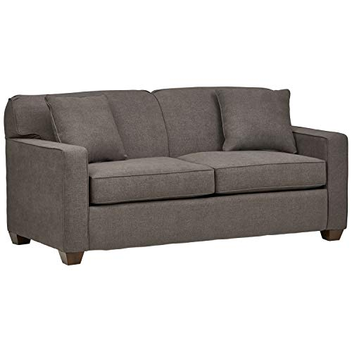 Amazon Brand – Stone & Beam Fischer Full-Sized Sleeper Sofa, 72'W, Stone Fabric