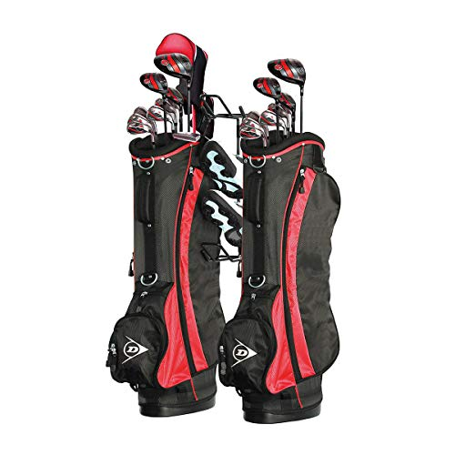 Racor Golf Bag Storage Hanger Holds Two Golf Bags Shoes Sports Equipment For Garage Closet Organizer