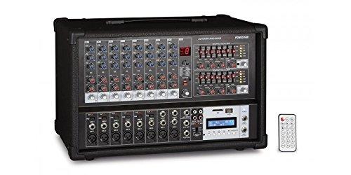 Fonestar sma-208rub 8canales 20–20000Hz negro mesa de mezclas audio–Mesas de mezclas de audio (8canales, 20–20000Hz, 4ohmios, 8Ohm, SD, 6,3mm)