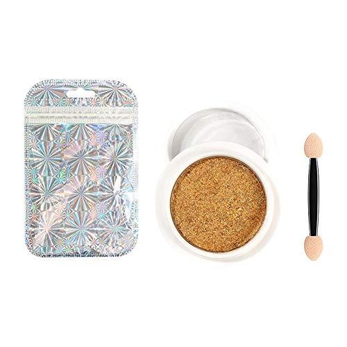 JooDon Miroir Effet Poudre À La Mode Longue Durée Holographique Nail Poudre Manucure Art Décoration Glitter