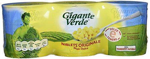 Niblets Mais Dolce, 3 x 160 G - Totale: 480 gr