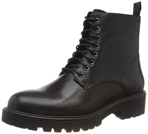 Vagabond Kenova Womens Lace Up Black Leather Boots-UK 7 / EU 40