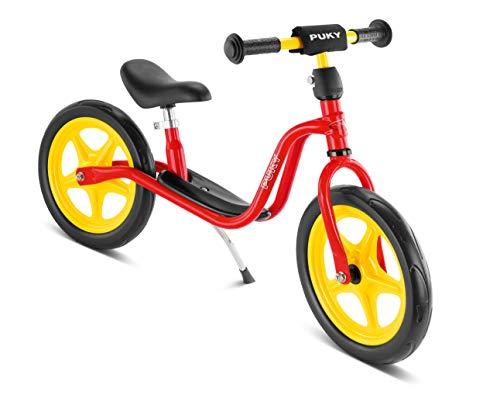 Puky 4014–Bicicleta sin pedales con caballete LR 1, roja