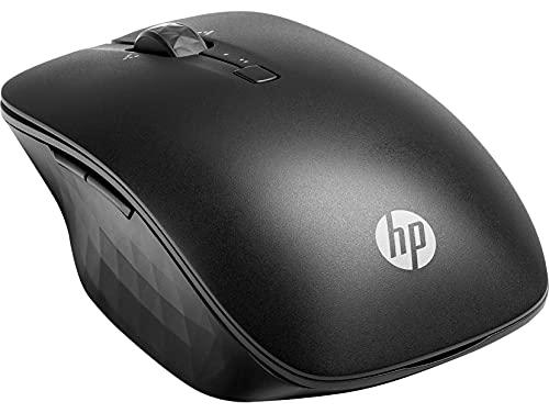 Ratón inalámbrico - HP Bluetooth de Viaje, Bluetooth, 1200 PPP, Negro