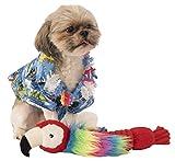 Rubie 's Offizielles largeulau Hemd und Hawaiianische Lei Pet Hund Kostüm