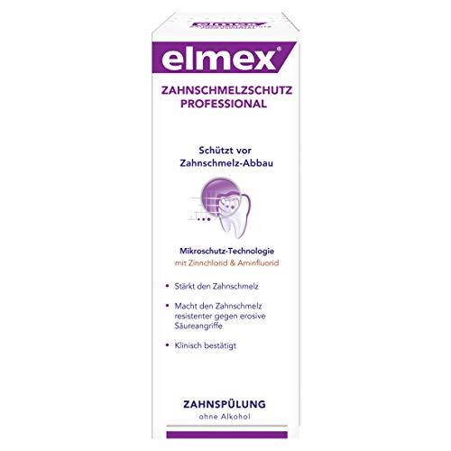 elmex ZAHNSCHMELZSCHUTZ PROFESSIONAL Zahnspülung, 400 ml