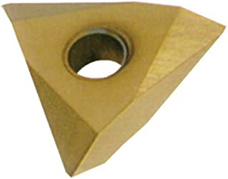 10 Degrees Lead Angle TPMC Style 1//8 Cutting Width CM02 Grade Cobra Carbide 42992 On-Edge Solid Carbide Grooving Insert Pack of 10