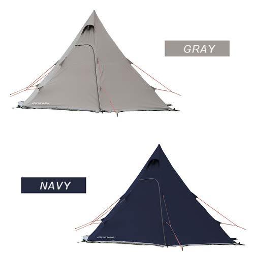 クイックキャンプ T/Cワンポールテント
