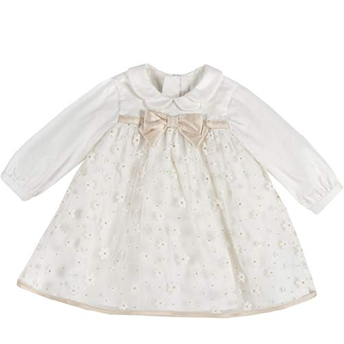 Chicco Kleid für Babyfeiern, Weiß 62
