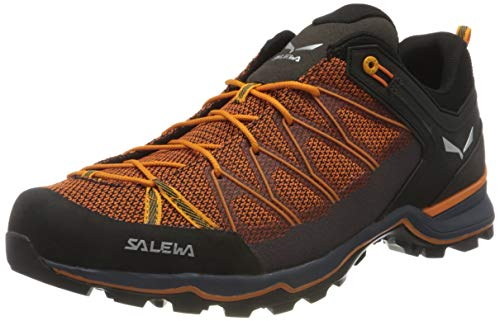 Salewa MS Mountain Trainer Lite, Trekking-& Wanderstiefel para Hombre, Azul (Ombre Blue/Carrot 3849), 42.5 EU