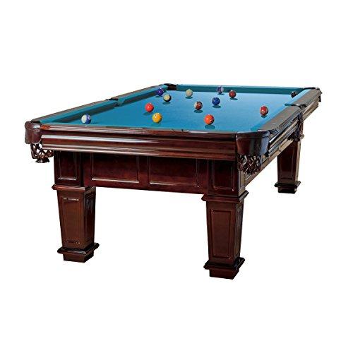 Pool Billardtisch Modell Portos 9 ft, Tuchfarbe:blau