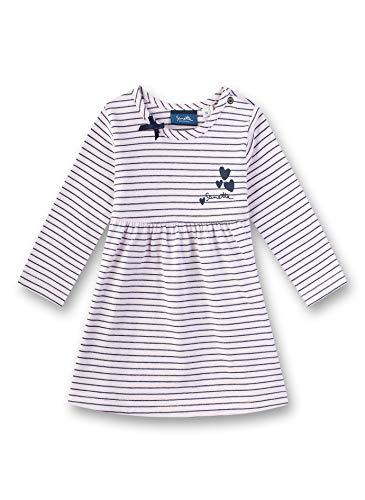 Sanetta Baby-Mädchen Dress Knitted Kleid, Rosa (Cherry Blossom 3971), 86 (Herstellergröße: 086)
