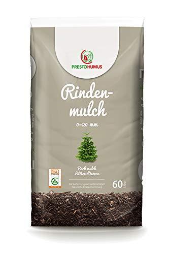 Presto Rindenmulch fein 0-20 mm 60 Liter