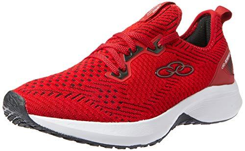 Olympikus Calçado para Caminhada Sonoro Masculino, 37, Vermelho