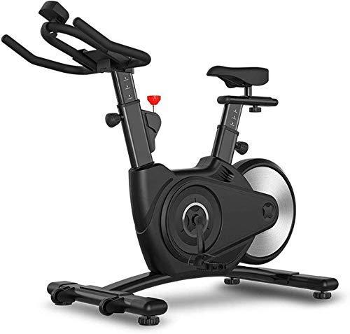SXTYRL - Bicicleta estática de entrenamiento, bicicleta para el hogar, fitness, pantalla LCD, altura ajustable, magnética, giro estacionario, bicicleta cardiovascular, ciclismo en casa