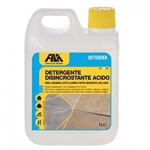 Fila Solutions - Deterdek - - 1 litro - detergente desincrustante ácido
