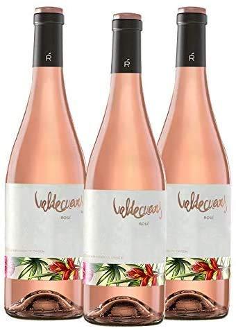 Valdecuevas Rosé Caja de 3 Vino Rosado 750 ml D.O. RUEDA