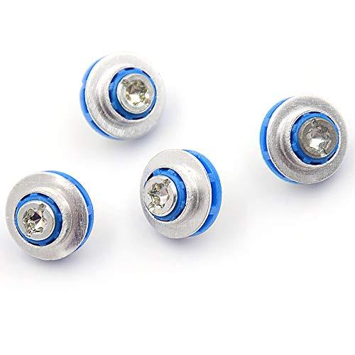 4pcs / lot Blau Schrauben for HP 3.5 HDD DC7800 DC7900 8000 8100 Z400 Z600 Schrauben Isolation Grommet 450712-001 Mute Montage RSL