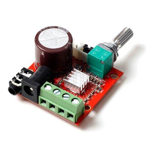 『Mini Hi-Fi ミニ ハイファイ PAM8610 オーディオ ステレオ アンプ 2×10W デュアル チャネルD クラス モジュール』の1枚目の画像