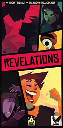 Corax Games Revelations: Kennst du Deine Freunde? Kartenspiel deutsch