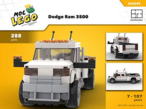 Dodge Ram 3500 (Instruction Only): MOC LEGO (English Edition)