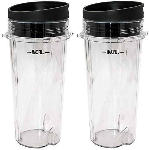Vaso de repuesto con tapa de 454 ml