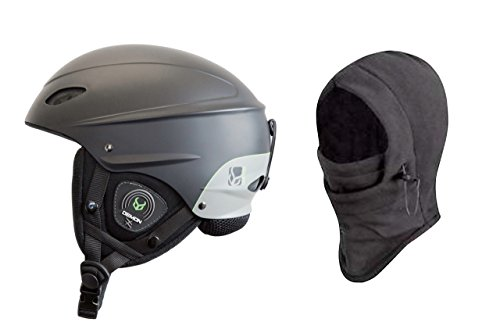 Demon Phantom Helmet with Brainteaser Audio and Free Balaclava (Black, Large)