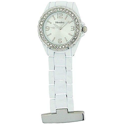 Henley hf01.4–Armbanduhr Damen, Armband aus Metall
