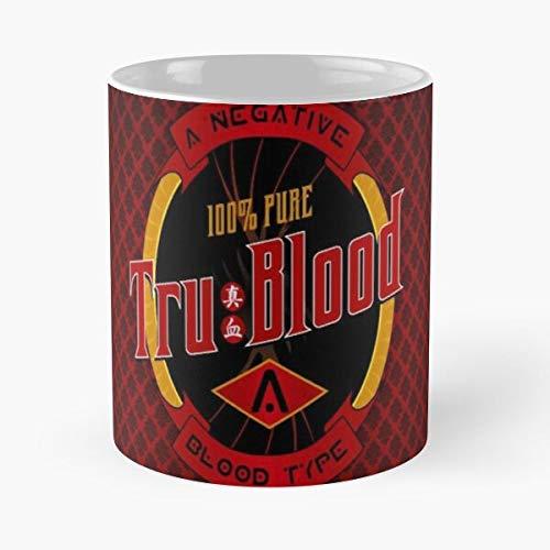 Desconocido Serievampire True TV Serie Blood Eric Love Taza de café con Leche 11 oz