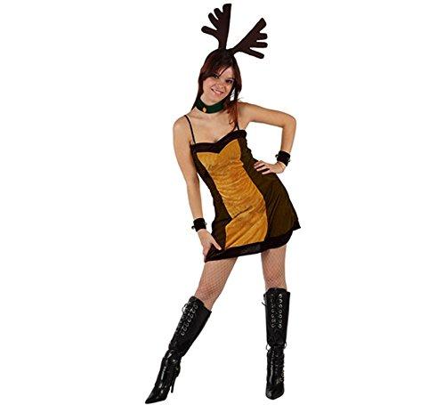 Costume da Renna da Donna Taglia2 M/L_98440