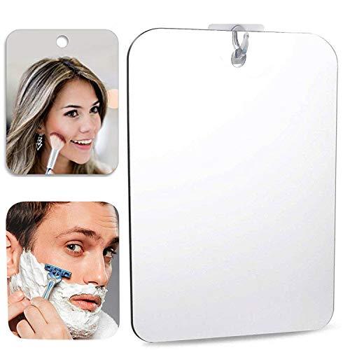 Beschlagfreie Duschspiegel Größer Nebelloser Rasierspiegel Kosmetikspiegel Badspiegel Wandspiegel Spiegel 11.8in*8in