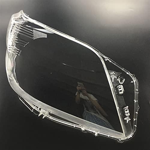CJYDMM / Apto para Toyota Land Cruiser Prado 2009-2013 Cubierta Protectora Delantera de la Cubierta de los Faros de la lámpara de Cristal Lámpara de cáscara de la lámpara Transparente