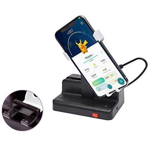 ポケモンgo 振り子 回転スイング スマホ用 USB給電 携帯電話自動スイング 永久運動 自動で歩数を稼ぐ 日本語説明書付き 中華振り子 マニュアルON/OFFスイッチ 左右スイング 磁石不使用 自動孵化装置 ホワイト