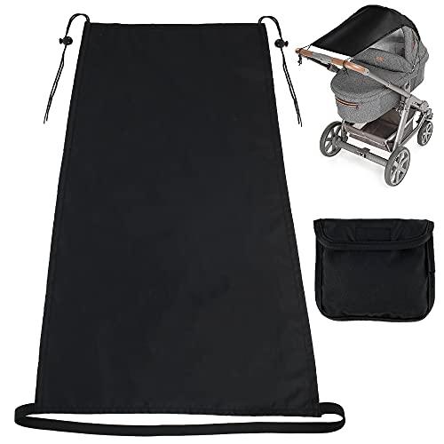 Cochecito de bebé Universal, Dosel, protección Solar, protección contra la Lluvia, Cochecito, toldo, sombrilla, sombrilla, Cubierta, Sombra