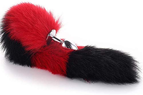 Edelstahl Stopper Cosplay Stecker glatt Spielzeug for Frauen Design herzförmige Basis