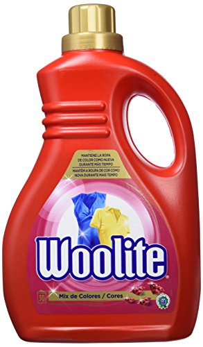 Woolite Detergente en Gel para Ropa de Color - 30 Dosis de 55 ml, Total: 1650 ml