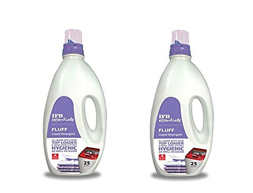 IFB Combo Of 2 Fluff Liquid Detergent for All Top Load Washing Machine