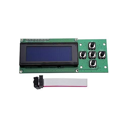 TONGDAUR Melzi V2.0 1284P Carte PCB IC ATMEGA1284P + 2004 Écran LCD pour imprimante 3D Tronxy