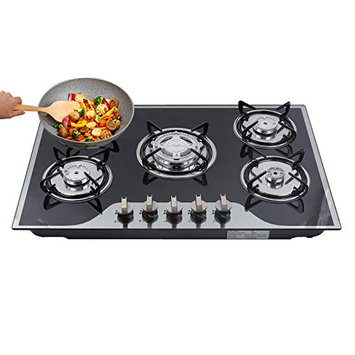 30-Inch-5-Burner-Tempered-Glass-Built-in-Gas-Cooktop-NGL-P-G-Dual-Fuel-Gas-Stove-5-Fuel-Stove-Top-Kitchen-Cooker-Flame-Cooking