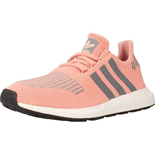 adidas adidas Damen Swift Run W Laufschuhe, Mehrfarbig (Trace Pink F17/grey Three F17/crystal White S16), 36 2/3 EU